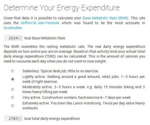 energyexpenditure